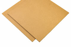 Corrugated paperboard Stock Photo
