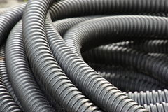 Corrugated pipe Royalty Free Stock Photo
