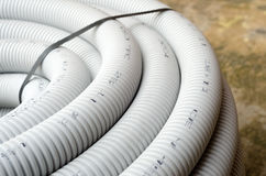 Corrugated pipe Stock Images