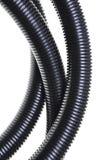 Corrugated pipe Stock Image