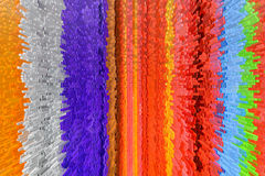 Corrugated plastic Stock Image