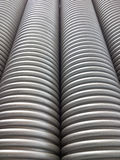 Corrugated plumbing pipe Stock Photography