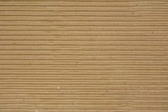 Corrugated Recycled Cardboard Royalty Free Stock Photo