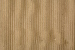 Corrugated Recycled Cardboard Royalty Free Stock Image