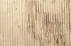 Corrugated recycled carton Stock Photo