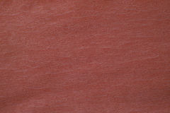 Corrugated red paper texture. For background Stock Image