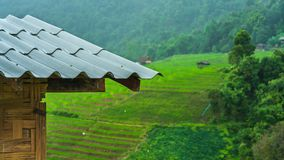 Roof House Natural Landscape Scenery royalty free stock photos