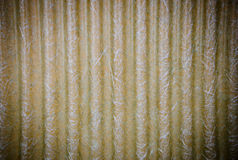 Corrugated roof  plastic sheeting. Texture Royalty Free Stock Photography