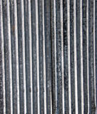 Corrugated roof texture Stock Photos