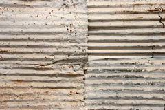 Corrugated Roof Texture Stock Image