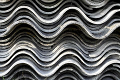 Corrugated roofing Stock Image