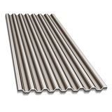 Corrugated roofing sheet Royalty Free Stock Image
