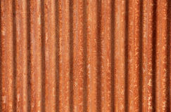 Corrugated Rusted Steel Background Stock Image