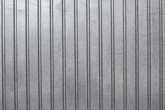 Corrugated sheet front view Stock Image