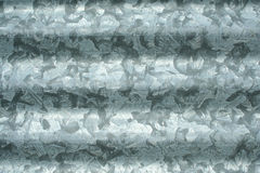 Corrugated Sheet Metal Royalty Free Stock Photography