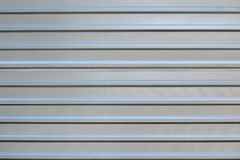 Corrugated sheet metal Royalty Free Stock Images