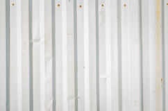 Corrugated sheet metal Stock Image