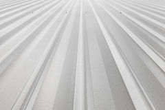 Corrugated sheet metal Stock Photography