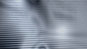 Corrugated sheet metal, reflecting light Royalty Free Stock Photos