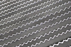 Corrugated sheet metal Royalty Free Stock Image