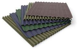 Corrugated sheets Royalty Free Stock Photos