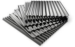 Corrugated sheets royalty free stock image