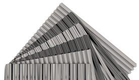 Corrugated sheets Stock Photo