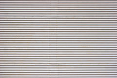 Corrugated sheets with rivets Royalty Free Stock Photo