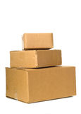 Corrugated Shipping Box Stock Photos