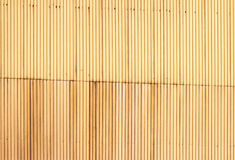 Corrugated siding plates Royalty Free Stock Image