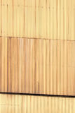 Corrugated siding wall Stock Images