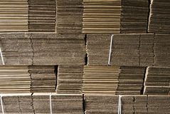 Corrugated paperboard Royalty Free Stock Photo