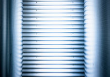 Corrugated steel Royalty Free Stock Photo
