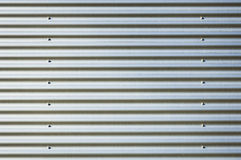 Corrugated steel Royalty Free Stock Images