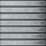 Corrugated steel Stock Photography