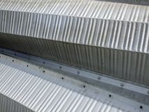 Corrugated steel Royalty Free Stock Photos