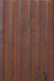 Corrugated steel background Royalty Free Stock Images