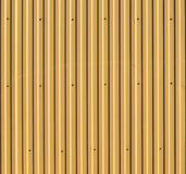 Corrugated steel background or texture Royalty Free Stock Photography