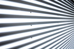 Corrugated steel Royalty Free Stock Image