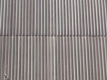 Corrugated steel Stock Image
