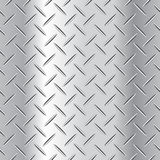 Corrugated steel plate vector illustration Stock Photography