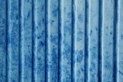 Corrugated steel sheet Royalty Free Stock Image