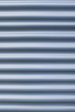 Corrugated steel sheet background Royalty Free Stock Photography