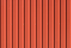 Corrugated steel sheet useful as a background Stock Photography