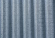 Corrugated steel sheet useful as a background Royalty Free Stock Photo