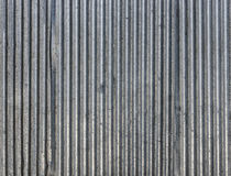 Corrugated steel sheets texture Royalty Free Stock Image