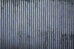 Corrugated steel texture Stock Images