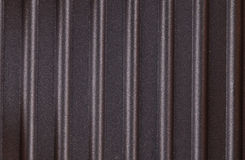 Corrugated surface metal texture Stock Photo