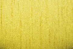 Corrugated texture of yellow color with stamping Stock Image