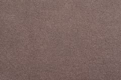 The corrugated textured design of fabric brown color Royalty Free Stock Photography